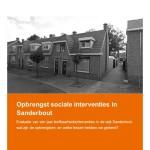 Opbrengst sociale interventies Sanderbout